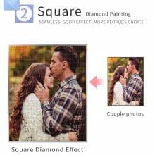 High Quality Sparkling Custom Photo DIY Diamond Mosaic