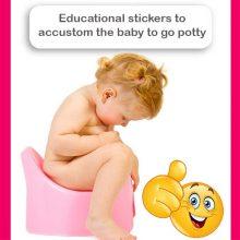 Educational Pi-Pi Magic stickers 4pcs + 1 FREE